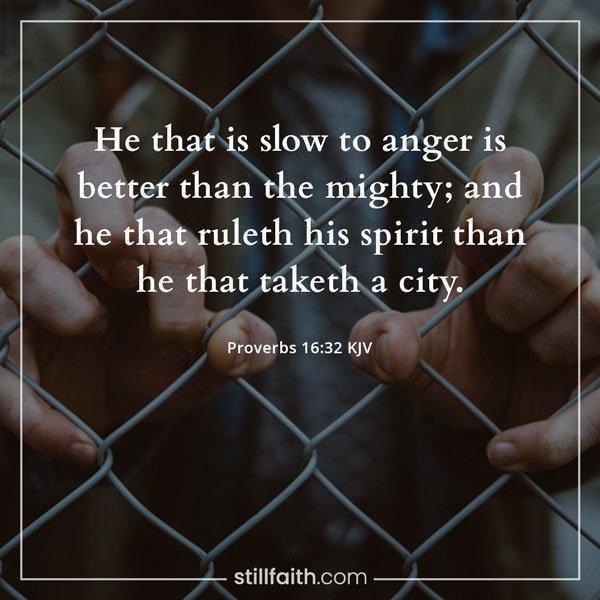 Proverbs 16:32 KJV Image