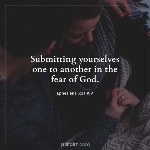 Ephesians 5:21 KJV