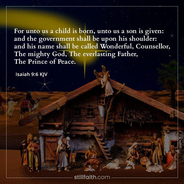 Isaiah 9:6 KJV Image