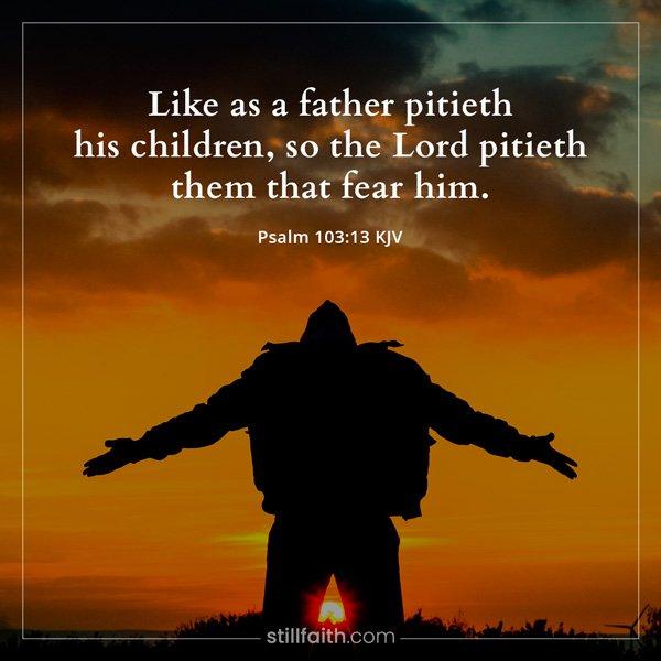 Psalm 103:13 KJV Image