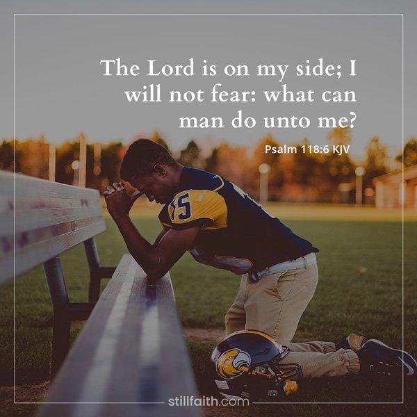 Psalm 118:6 KJV Image