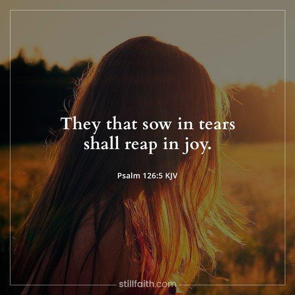 Psalm 126:5 KJV