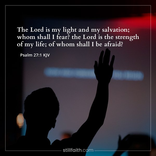 Psalm 27:1 KJV Image