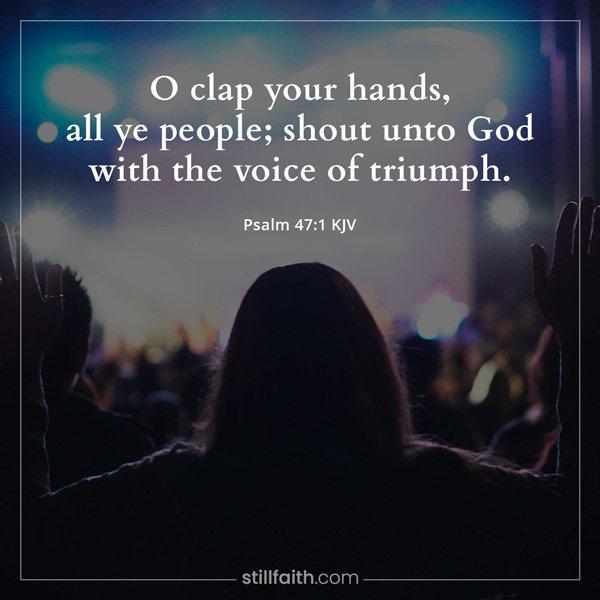 Psalm 47:1 KJV