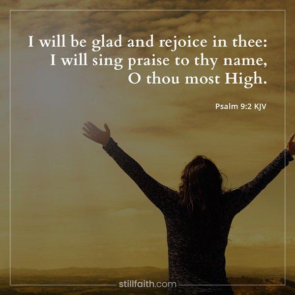 Psalm 9:2 KJV