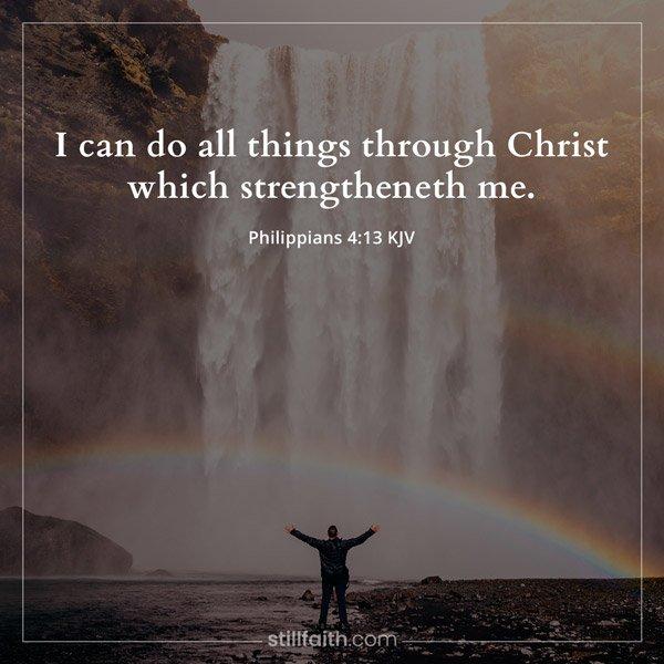 Philippians 4:13 KJV
