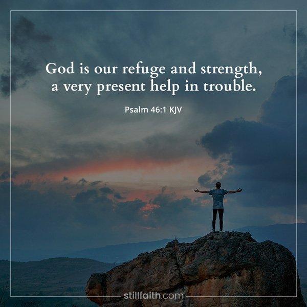 Psalm 46:1 KJV Image