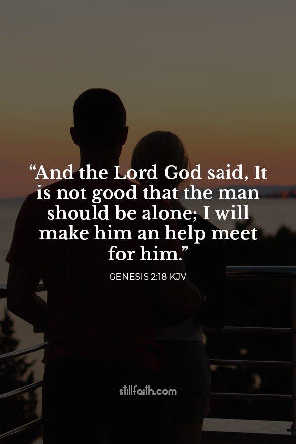 Genesis 2:18 KJV Image