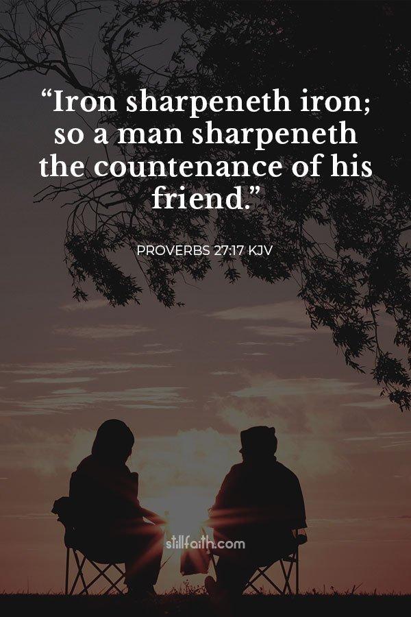 Proverbs 27:17 KJV Image