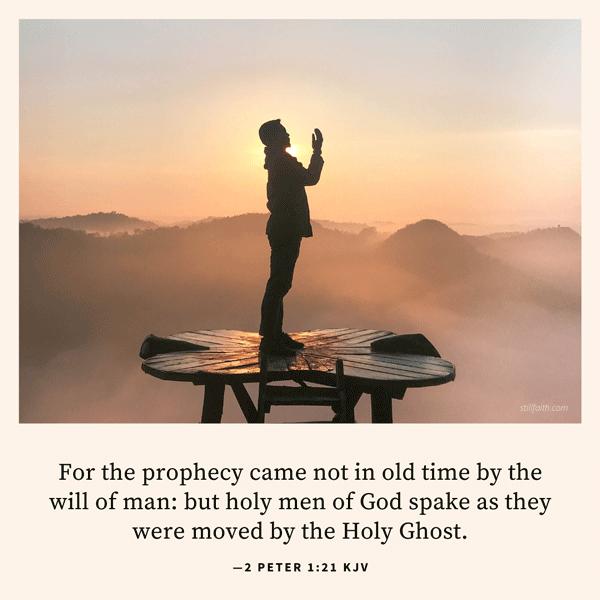 2 Peter 1:21 KJV Image