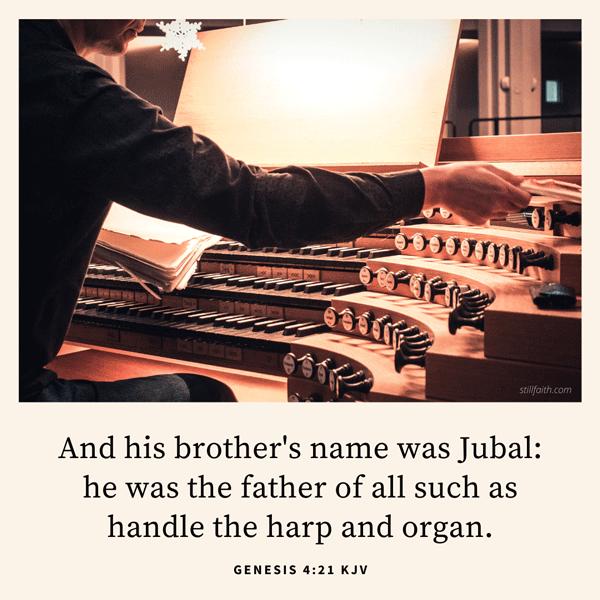 Genesis 4:21 KJV Image