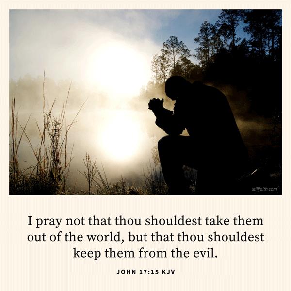 John 17:15 KJV Image