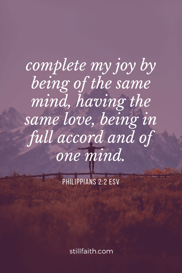 Philippians 2:2 ESV Image