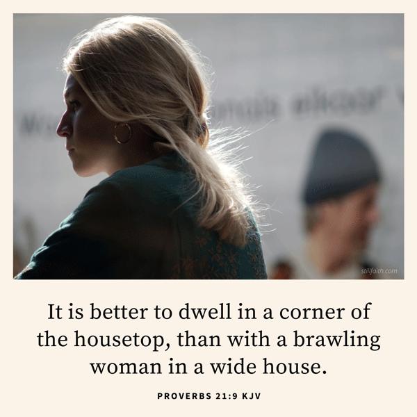 Proverbs 21:9 KJV Image