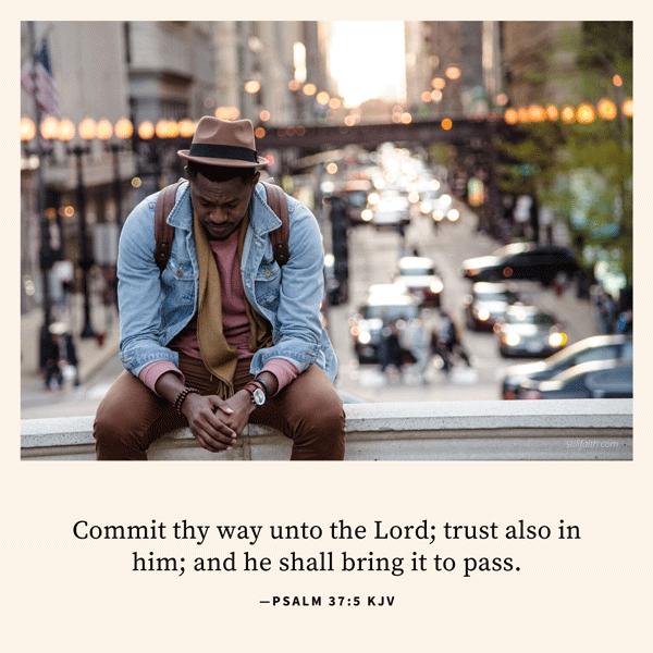 Psalm 37:5 KJV Image