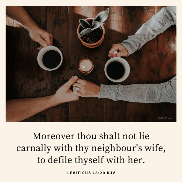Leviticus 18:20 KJV Image