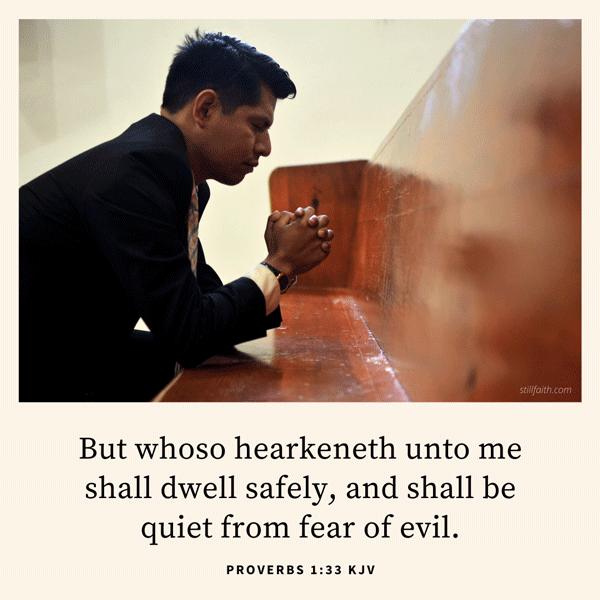 Proverbs 1:33 KJV Image