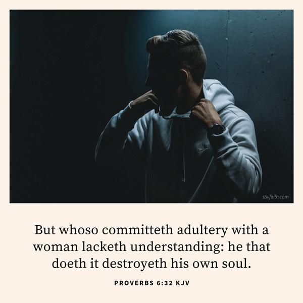 Proverbs 6:32 KJV Image