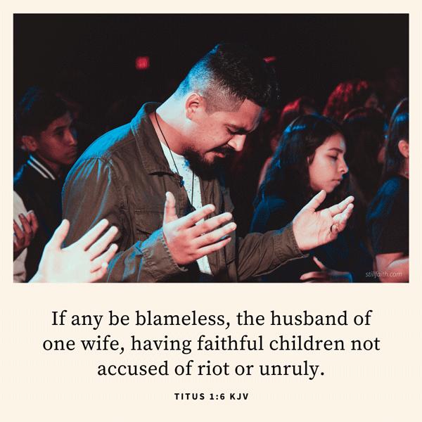 Titus 1:6 KJV Image