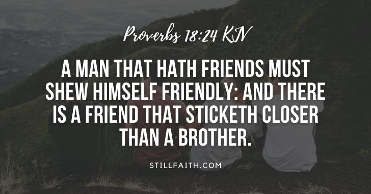 97 Bible Verses about Friends