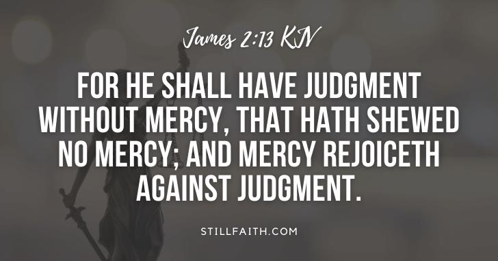 185 Bible Verses about Judgement