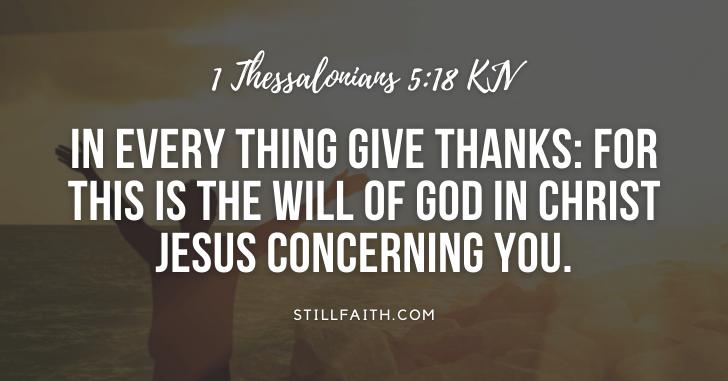 107 Bible Verses about Thankfulness