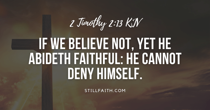 206 Bible Verses about the Faithfulness of God